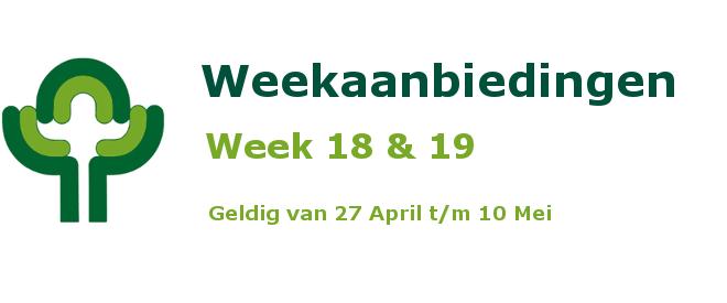 Weekaanbiedingen vlak NL